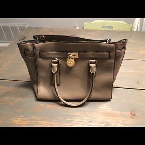 Michael Kors Hamilton handbag and wallet
